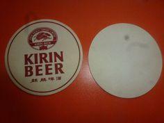 EN. aug JAPAN NIPPON KIRIN beer coaster  NR79 Kirin Beer, Beer Mats, Beer Coasters, Asia, Japan, Ebay, Okinawa Japan, Beer Bottle Caps