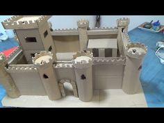 how to make a cardboard castle - Castillo de cartón - YouTube