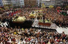 Santo Encuentro. Semana Santa Ferrolana by FERROLturismo, via Flickr