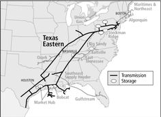 Spectra Energy Partners Texas Eastern Pipeline & Storage System