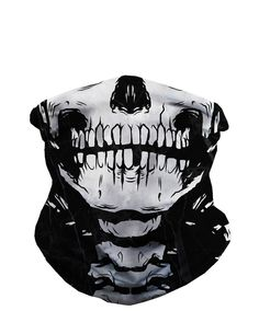 Skeleton Seamless Mask Bandana-front