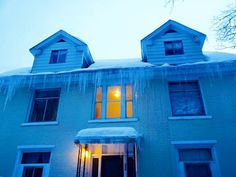 The hanging icicles 2014