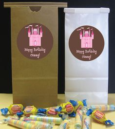 Princess party goody bags