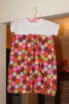 Ole Miss Mom: Summertime Sewing: T-Shirt Dress