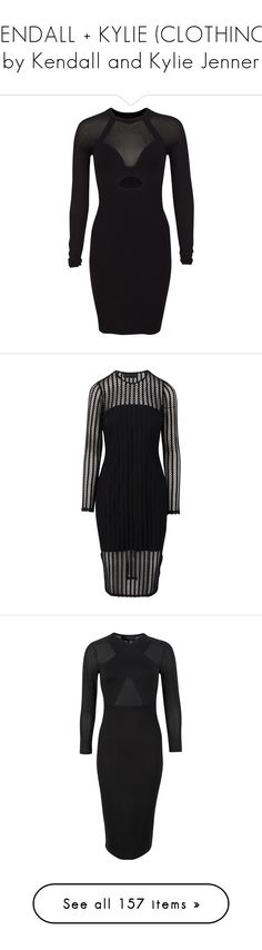 """""""KENDALL + KYLIE (CLOTHING) by Kendall and Kylie Jenner"""" by valeria-angel ❤ liked on Polyvore featuring dresses, sheer long sleeve dress, transparent dress, long sleeve day dresses, yoke dress, rayon dress, long sleeve jersey, long sleeve slip dress, long sleeve dress and long sleeve slip"""