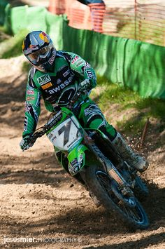 Campeonato de Motocross. Spain. MX Elite – Talavera de la Reina 2011  Piloto: Jonathan Barragan  by jesus mier, via Flickr #motocross #photography