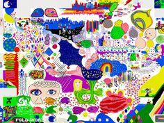 #foldapps #kidsart #drawing