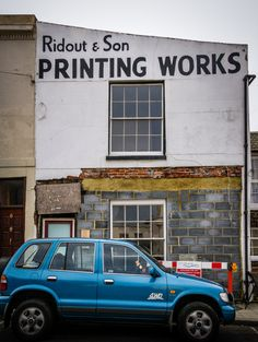 Ridout & Son Printing Works Sons, It Works, Typography, Printing, Letterpress, Letterpress Printing, My Son, Boys, Nailed It
