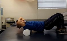 In this video I am going to show you a foam roller stretch for improving flexibility of the spine, ribcage and shoulders. The exercise targets multiple joints and muscle groups. Great for neck and shoulder problems. #ShoulderFlexibilit  #ShoulderPain #NeckPain http://www.tridoshawellness.com/foam-roller-for-spine-ribcage-and-shoulder-flexibility/