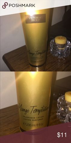 Victoria's Secret Mango Temptation BRAND NEW Brand New Fragrance Lotion. Full Size 8 oz. Victoria's Secret Other