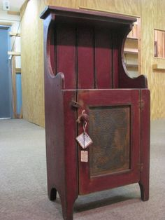 Early American Dailey Cabinet - Primitive Finish on Etsy, $289.00