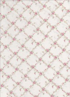 tiny roses trellis design background