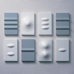 These silicon light switches from Normal Design take on a radical new form, not to mention material. Pressing the raised bumps activates the switch.