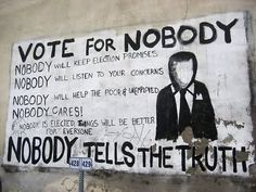 vote for nobody (Y)