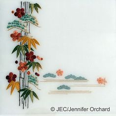 Japanese Embroidery: japanese embroidery