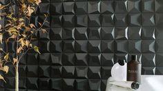 Nuevos #revestimientos Faces: naturalidad geométrica por @ramonesteve & @anticcolonial  #interiorismo #decoración