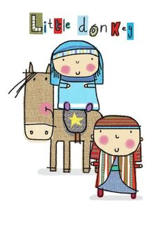 Katie Saunders - ems mary and jo Nativity Clipart, Xmas Wishes, Joy To The World, Xmas Cards, Christmas Art, People Illustrations, Hand Lettering, Art For Kids, Clip Art