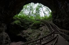 fun things to do in iowa:  number 6. Traverse through Maquoketa Caves State Park in Maquoketa.