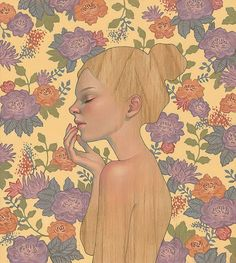 "Two solo shows kick off this weekend at Thinkspace Gallery in Culver City, Calif.: Audrey Kawasaki's ""Interlude"" and Stella Im Hultberg's ""Hollow Resonance."" Both shows kick off on Satu… Audrey Kawasaki, Art And Illustration, Art Nouveau, Portraits, Lowbrow Art, Art Memes, Silhouette, Sculpture, Oeuvre D'art"