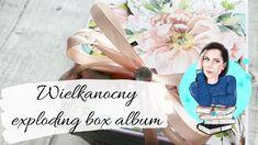 Wielkanocny album -box Beauty in bloom Mintay Papers scrapbooking   Co j... Bloom, Beauty Box, Scrapbook, Paper, Instagram, Scrapbooking, Guest Books, Scrapbooks