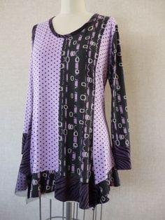 Katherine Tilton T - Purples Peplum  Vogue 8691