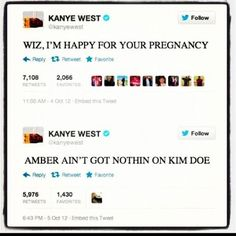 Kanye West Keeping It Real About Amber Rose Pregnancy