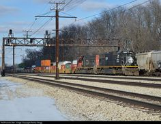 RailPictures.Net Photo: IC 1029 Illinois Central Railroad EMD SD70 at Flossmoor, Illinois by Robby Gragg