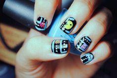 Pac-man nails i just love it