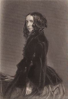 ELIZABETH BARRETT BROWNING (1806-1861) English author who wrote beautiful love poems to husband Robert Browning.