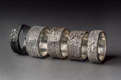 Maya Kini  mayakini.com Image: silk rings with diamonds