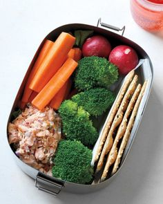 Great idea for the school lunch box: Chopped Salmon Salad | Martha Stewart