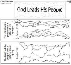 pillar of fire and pillar of cloud craft - Google Search