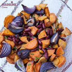 Cartofi dulci au multe beneficii nutritionale: contin vitamina A, ajuta la reglarea glicemiei, contin multe fibre si sunt tare gustosi. Imi place ca...