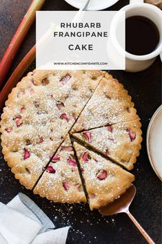 Frangipane tart and cake meet halfway in a Rhubarb Frangipane Cake. This simple rhubarb cake will quickly become a favorite for rhubarb season! Rhubarb Recipes, Tart Recipes, My Recipes, Pie Dessert, Dessert Recipes, Rhubarb Cake, Mini Tart, Eat Pretty, Desert Recipes