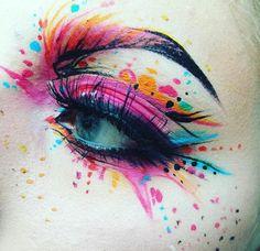 45 Pretty Halloween Eye Makeup Ideas - The eyes are the window to your heart . - 45 Pretty Halloween Eye Makeup Ideas- The eyes are the window to the heart. If beauty is a whole-bo - Eye Makeup Art, Glitter Eye Makeup, Eye Art, Makeup Inspo, Makeup Inspiration, Makeup Ideas, Uk Makeup, Makeup Brush, Games Makeup