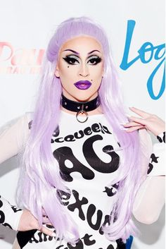 Laila McQueen at the RuPaul's Drag Race Season 8 Premiere in NYC. - I'm 100% lesbian but have a think for Layla!