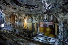 detroit opera house before renovation  