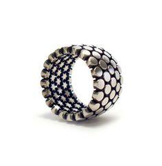 "CINNAMON LEE ~ ""100 Secret Wishes"" 925 Silver Ring"