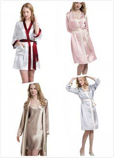All Mulberry Silk Bedding Sets Online! Silk Chemise, Silk Nightgown, Silk Sleepwear, Silk Pajamas, Satin Lingerie, Lingerie Dress, Silk Bedding, Mulberry Silk, Silk Satin