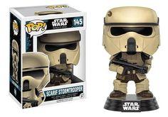 Funko POP A Star Wars Story Scarif Stormtrooper Action Figure