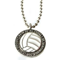 Christian Sports: Volleyball Necklace [$9.99]