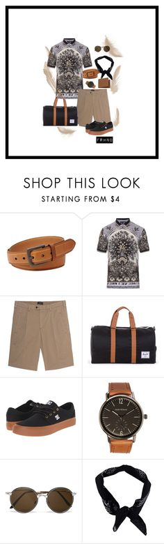 """""""black"""" by farhanoid on Polyvore featuring FOSSIL, Dolce&Gabbana, Joseph, Herschel Supply Co., DC Shoes, TOKYObay, Cutler and Gross, BoohooMAN, Mulberry and men's fashion"""