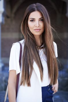 Touch of Burgundy — Negin Mirsalehi