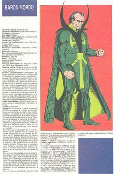 baron mordo marvel | Baron Mordo (ficha marvel comics)
