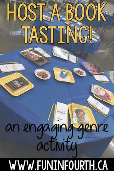 Discover how to host a book tasting party in your…