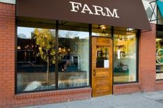 """Farm Restaurant, in Calgary : """"Albertan Food Everyday – We love our suppliers"""" Owned by Calgary's cheese maven, Janice Beaton, who also operates Janice Beaton Fine Cheese. Farm Restaurant, Cheese Shop, Cozy Place, Charcuterie, Places To Eat, Calgary, Canadian Cuisine, Restaurants, Long Tables"""