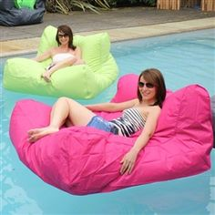 outdoor beanbag float pool float bean bag lounger pool pinterest products pool floats and. Black Bedroom Furniture Sets. Home Design Ideas