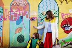 Being bold with colour and my love of fashion with John Lewis.
