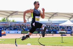 """""""You're not disabled by the disabilities you have, you are able by the abilities you have.""""  -Oscar Pistorius"""