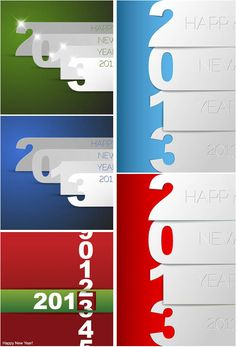 #2013 Happy New Year #posters #vector